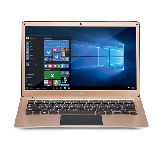 Notebook 13.3 Pol. 4gb/32gb/celeron/windows - Dourado