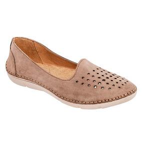 Zapatos Confort Oxford Casual Niñas Beige Zoe Piel Udt 19667