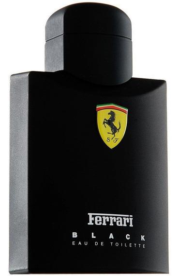 Perfume Ferrari Black Scuderia - Eau De Toilette - 200ml