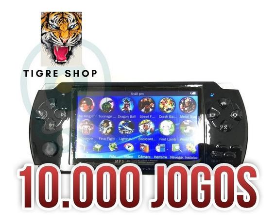 Vídeo Game Portátil Mini Retrô 1000 Jogo Ebook Mp3 Rádio Fm
