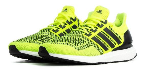 Tenis adidas Ultra Boost 1.0 Solar Yellow Originales Nmd Hu