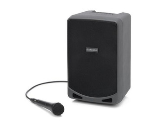 Samson Xp106 Bafle Portatil Recargable + Mic C/ Bluetooth