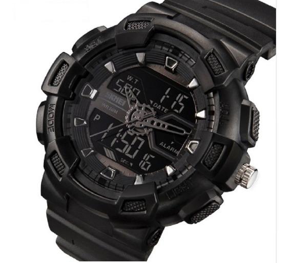 Relógio Masculino Esportivo Resistente Shock Skmei