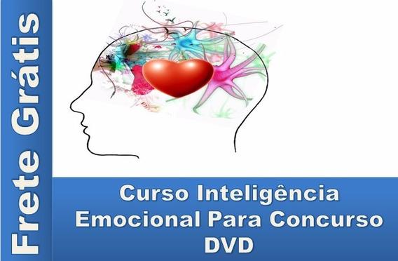 Inteligencia Emocional Para Concurso Em Dvd Frete Grátis