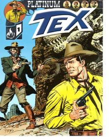 Tex Platinum 01 - Editora Mythos 1 - Bonellihq Cx08 E19