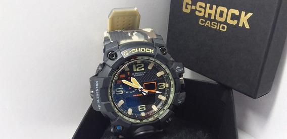 Relógio G-shock Mudmaster Camuflado Exército A Prova D´água