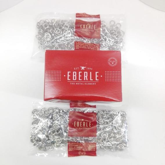 Broche Doble Aro Eberle Camisas, 11mm X200 -el Mejor-