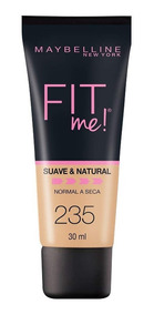 Maybelline Base Maquillaje Fit Me Suave Piel Normal A Seca
