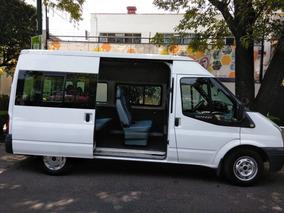 Ford Transit Kombi 2013 9 Pasajeros En Excelente Estado