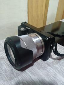 Câmera Fotográfica Digital Sony Nexf3 - Leia A Descrição