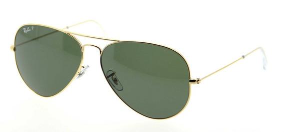 Óculos De Sol Ray-ban Rb3026l Aviator Large Metal Ii