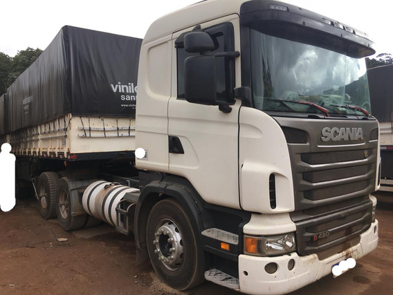 Scania G-420 Bug Leve 6x4 Ano 2010/2011 Revisada