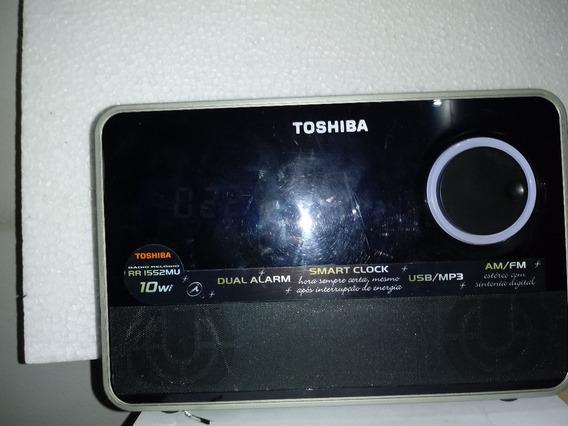 Radio Relógio(mini System) Toshiba Rr1552