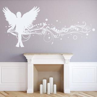 Beautiful Angel Wall Sticker WS-17828