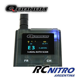 Receptor Fpv Quanum Rx 5.8ghz Auto Scan Oled 32 Canales !