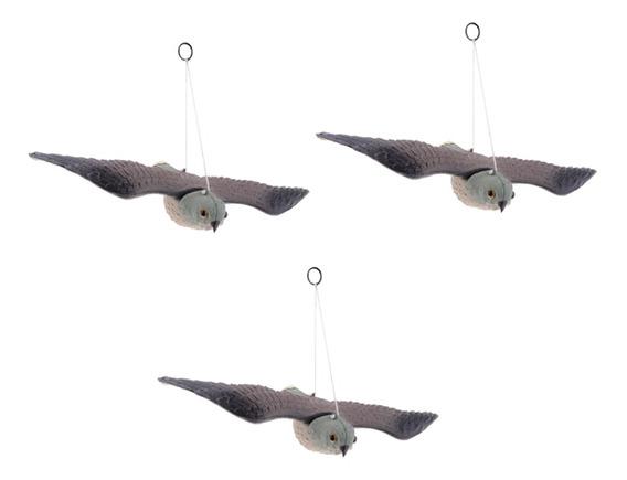 3 Aves Voladoras Realistas Halcón Accesorios De