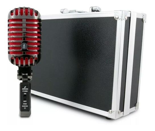 Microfone Arcano Vintage Séries Vt-45bk2