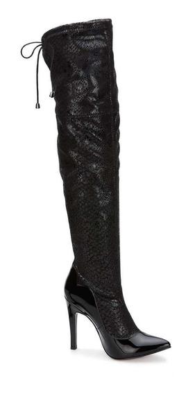 Oferta Botas Extra Largas Color Negro Ajustables