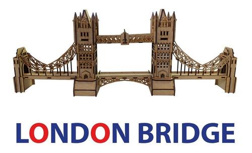 Rompecabezas 3d Puente De Londres / London Bridge Maqueta