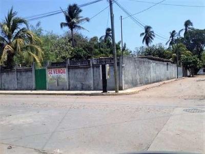 Terreno En Tuxpan Y Lerdo De Tejada Col. Plan De Los Amates
