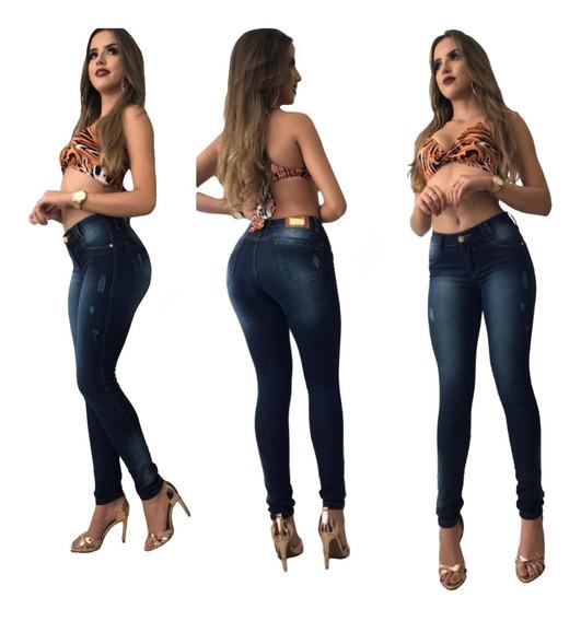 Calça Jeans Feminina Oferta Lança Perfume Novo Modelo