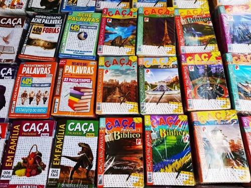 Imagem 1 de 7 de 25 Revistas Caça Palavras Passatempo Sem Repetição