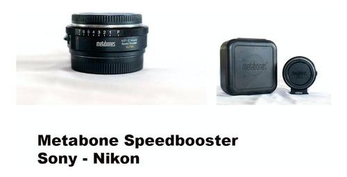 Metabone Speedbooster Sony - Nikon