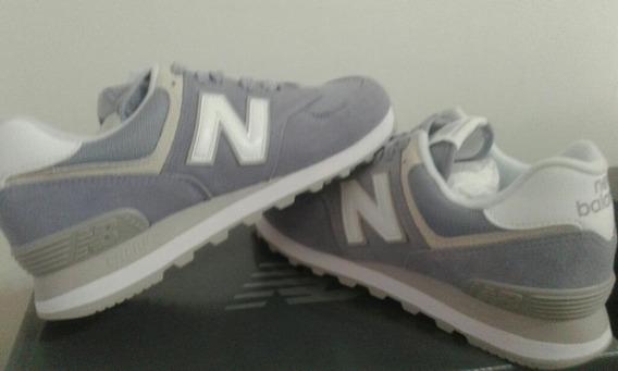 Zapatillas New Balance Wl574 Esv Nuevas Originales 38 (25cm)