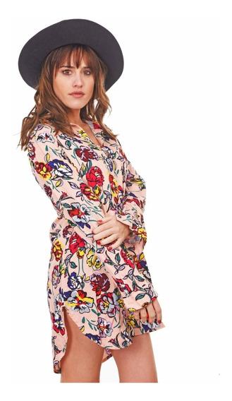 Customs Ba Camisolas Mujer Importada Largas Camisas Vestidos