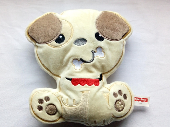 Pelucia Almofada Meu Amiguinho Cachorro Fisher Price Mattel