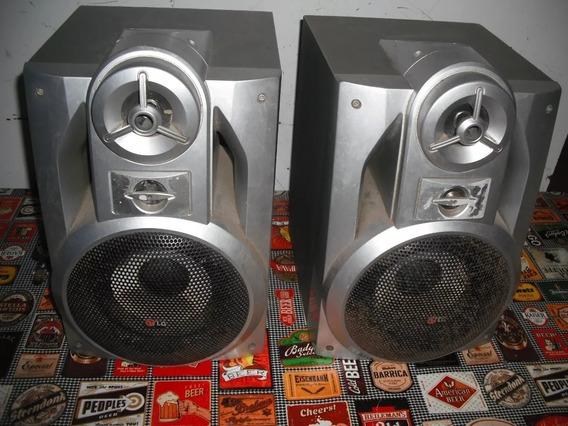 Caixa De Mini System Som Lg 160w Rms Semi-novas 149,00 Reais