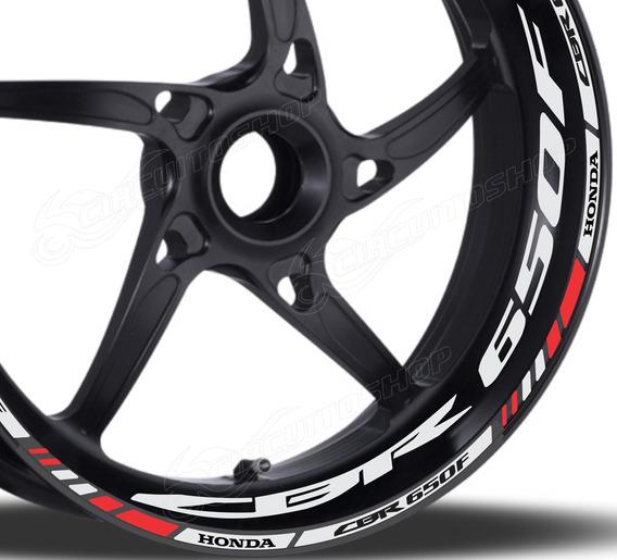 Friso + Adesivo Refletivo M1 Roda Moto Honda Cbr 650 F