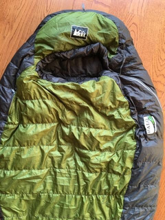 Sleeping Bag 5 Grados C Pluma Superligero