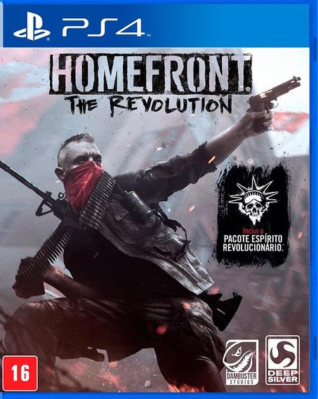 Homefront The Revolution Ps4 Midia Fisica Novo Lacrado
