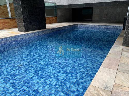 Imagem 1 de 25 de Apartamento Com 1 Dormitório À Venda, 50 M² Por R$ 300.000 - R1f162a -canto Do Forte - Praia Grande/sp - Ap0396
