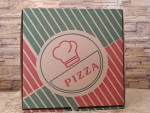 Caja Corrugada Para Pizza