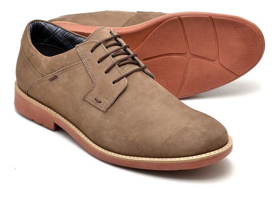 Sapato Oxford Casual Masculino Em Couro 33