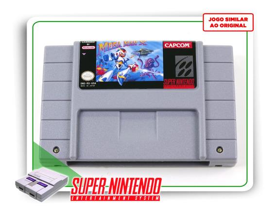 Mega Man X Super Nintendo Snes - Novo