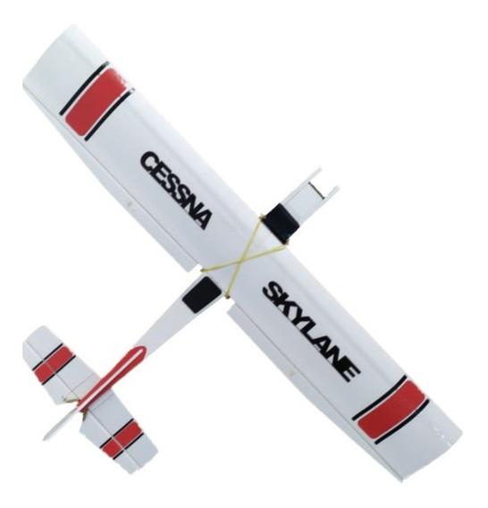 Aeromodelo Cessna Montado + Linkagem + Entelagem Kit 1