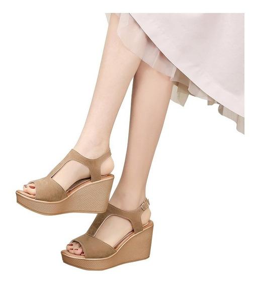 Sandalias De Tacón Alto Vintage Para Mujer