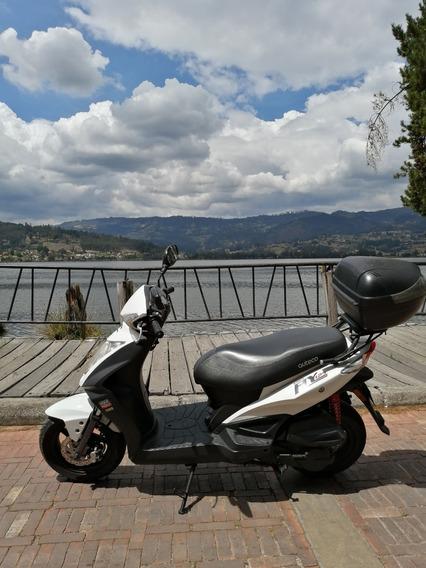 Moto Blanca Kymco Fly 125 2016