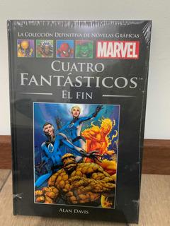 Libro Marvel Salvat Cómics Cuatro Fantásticos El Fin