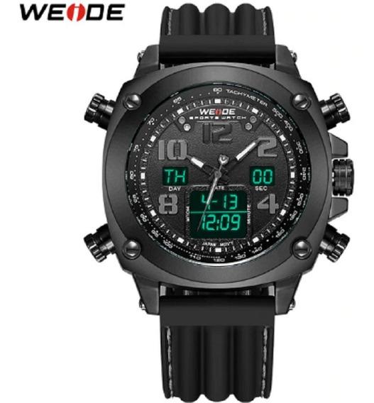Relógio Weide Anadigi Wh-5208 Moda Para Homens - Original