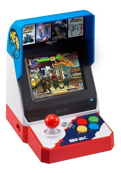 Neo Geo Arcade Mini Japonês L C/ 40 Jogos Neo Geo