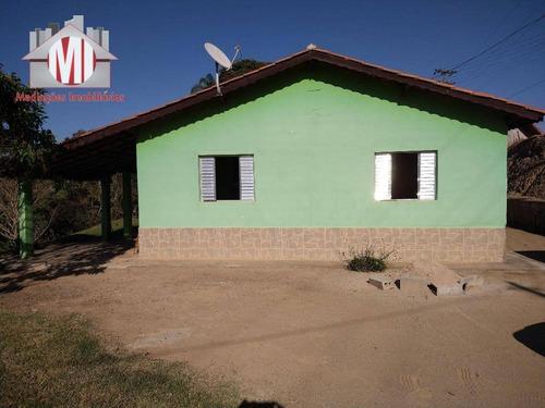 Excelente Chácara Com 3 Dormitórios, Bem Localizada, Belas Vistas Para Paisagens, À Venda, 1000 M² Por R$ 220.000 - Pedra Bela - Pedra Bela/sp - Ch0751