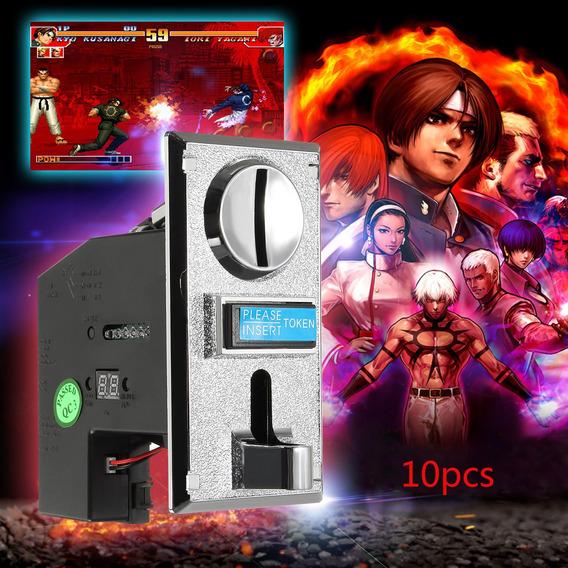 Multi-coin Slot Selector Aceptador Para Arcade Gaming Machin