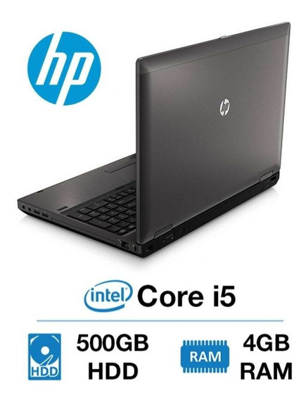 Notebook Hp Probook Core I5 Hd500 4gb Win7 Oferta