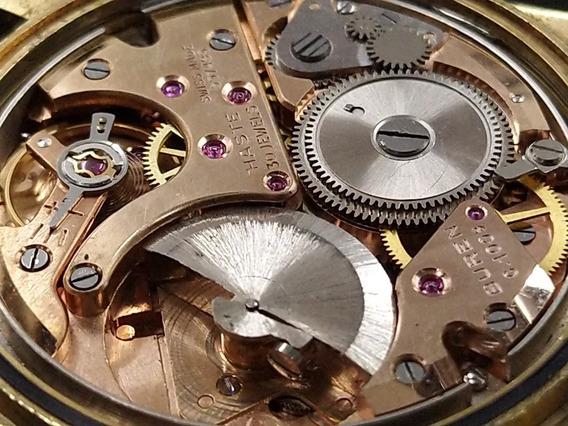 Reloj Haste Super Slender 30 Joyas Antiguo Máquina Buren