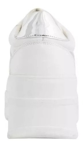Tenis Casual Color Blanco Gloria Trevi 183234 Urbano