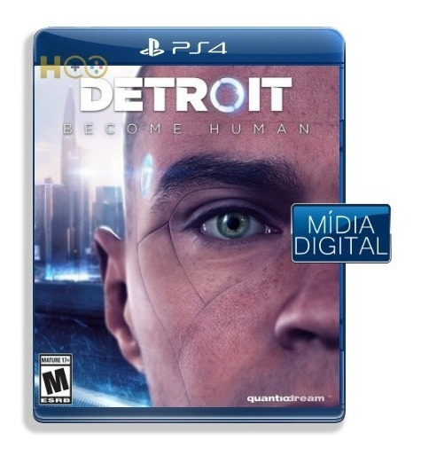 Detroit Become Human - Ps4 Cod Psn I Entrega Imediata